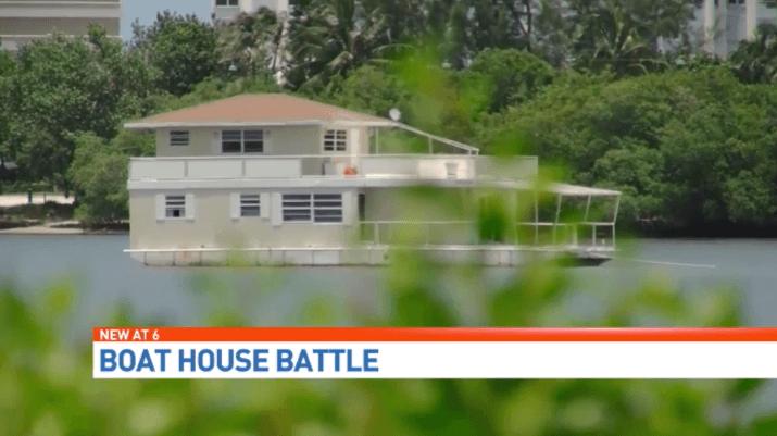 Boat House Battle - Fane Lozman